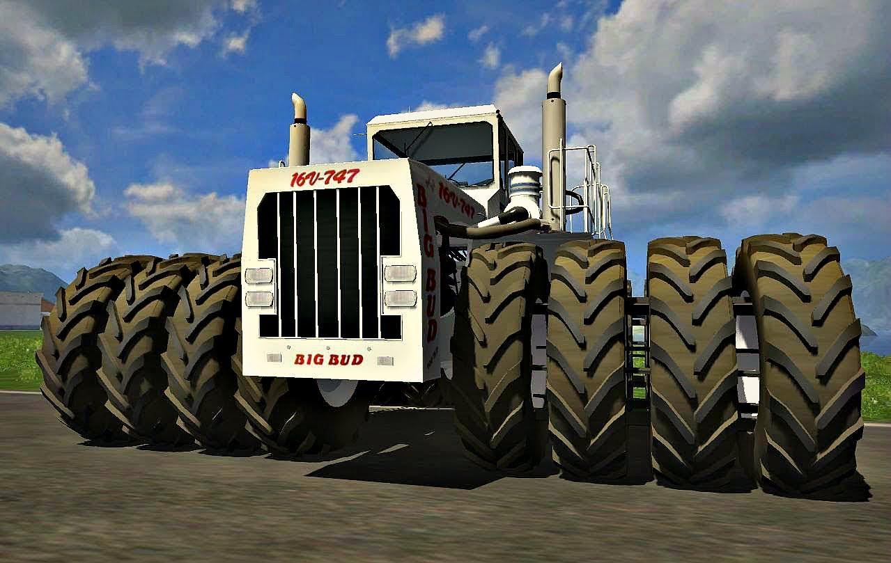 Все рекорды в мировом тракторостроении. Самый большой трактор