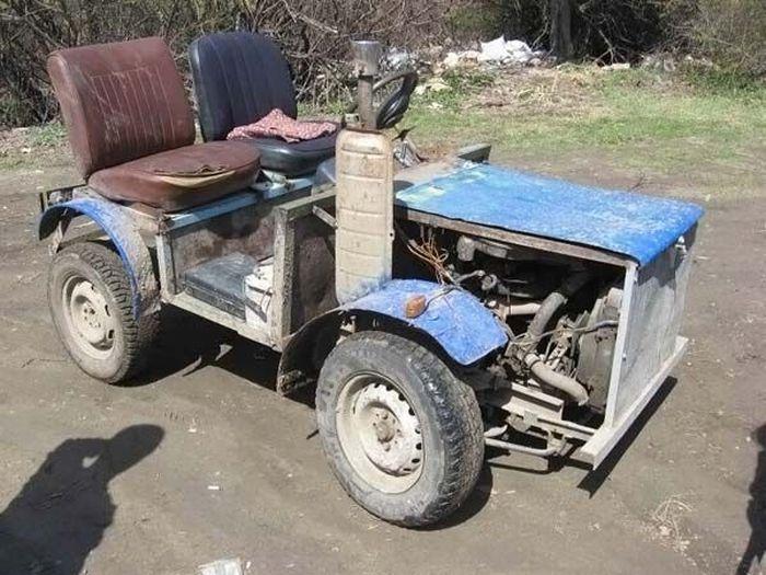 Самодельного трактора