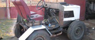 Трактор из Москвича