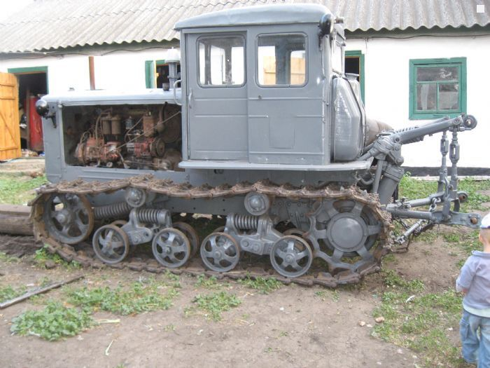 Трактор Т-74 технические характеристики