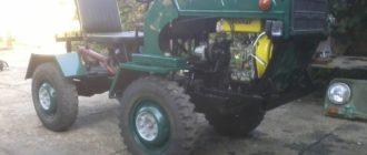 Трактора на базе ЛУАЗ