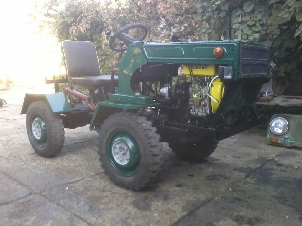 Трактор переломка из уаза