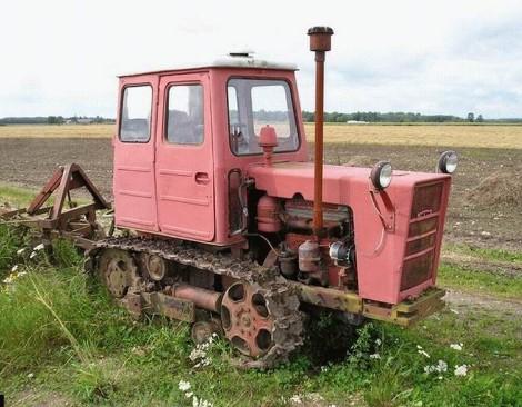 Трактор Т-54 - технические характеристики