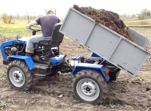 Трактор из ЛУАЗа своими руками