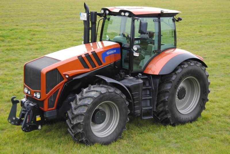 Трактор terrion - технические характеристики