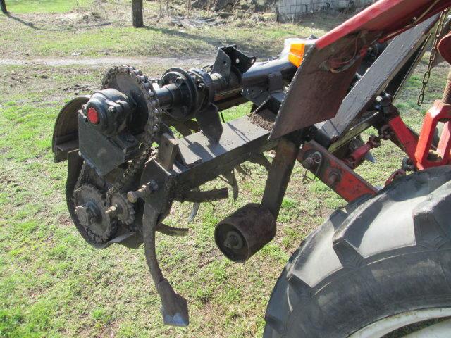 Грунтовая фреза для трактора
