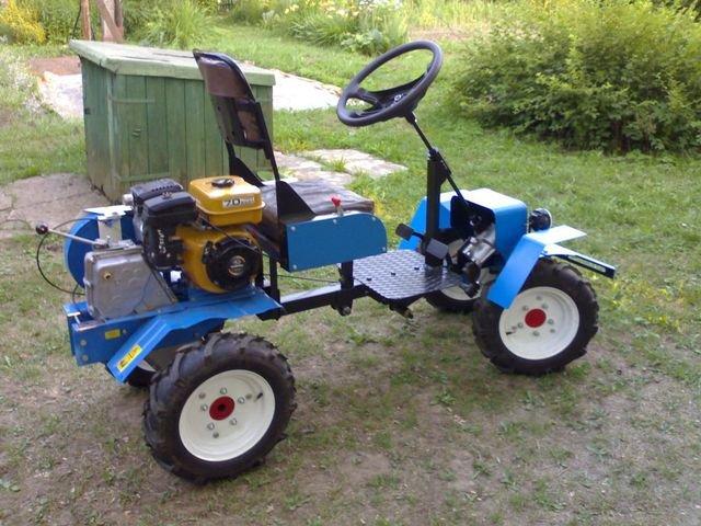 Как из мотоблока сделать трактор?