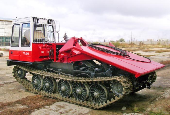 Трактора трелевочные