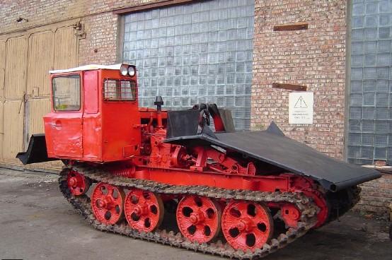 Трелевочный трактор ТДТ 55 (ТДТ 55А)