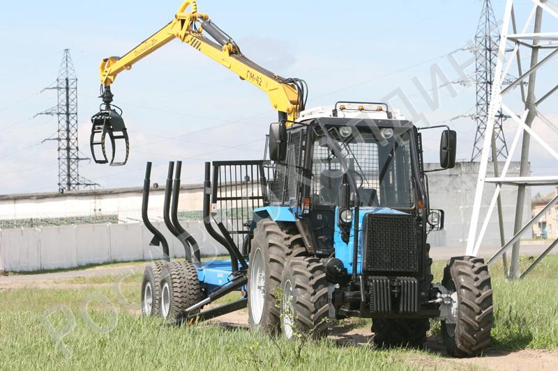 Трактора МТЗ для лесного хозяйства