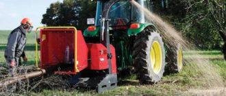 Навесной измельчитель на трактор