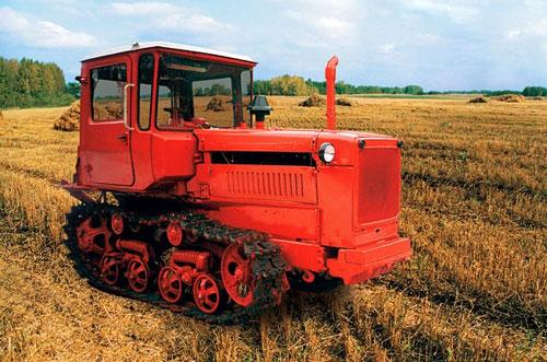 Переделка трактора ДТ-75 на колесный ход