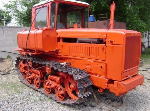 Как управлять трактором ДТ-75