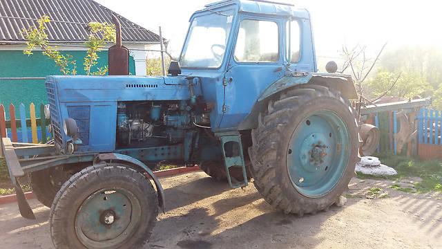 Трактор МТЗ-80 - подготовки к работе