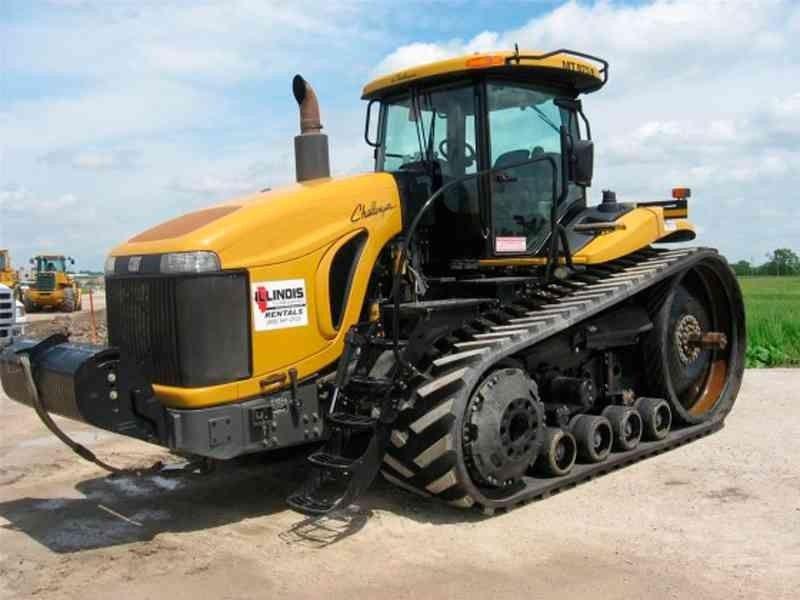 Гусеничные тракторы