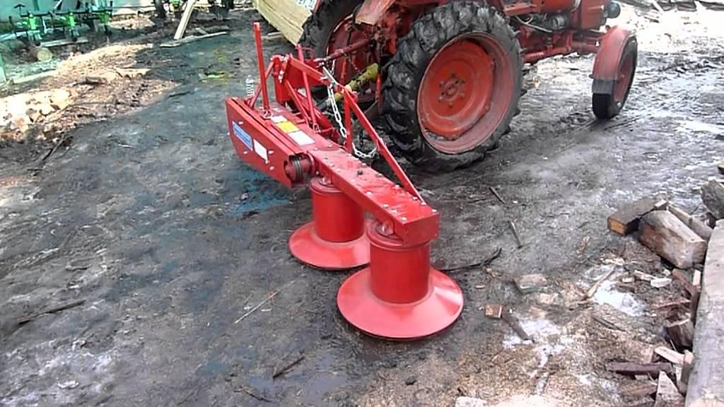 Трактор t25 с косаркой роторной