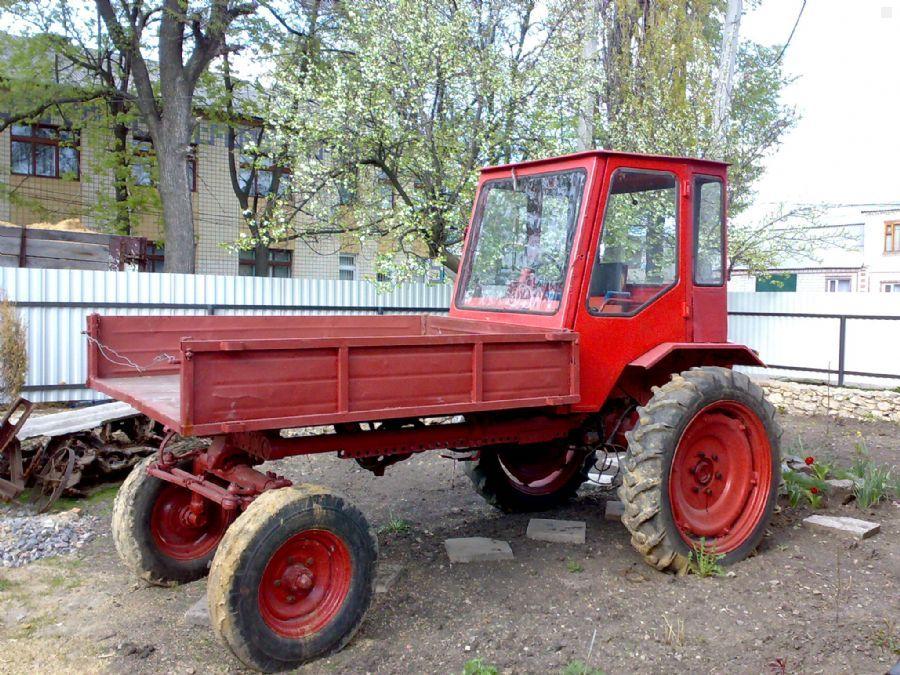 Трактор Т Шассик возможности конструктивные особенности Трактор Т 16