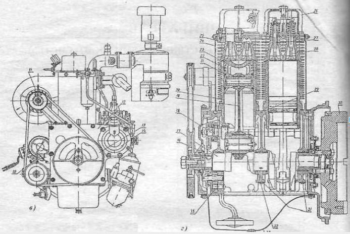 Конструкция мотора - схема