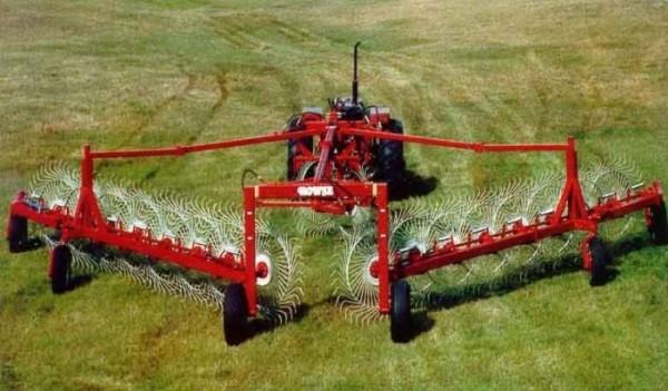 Гребка для сена к трактору