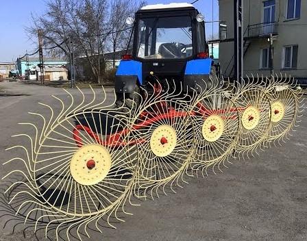 Как сделать грабли на трактор своими руками?