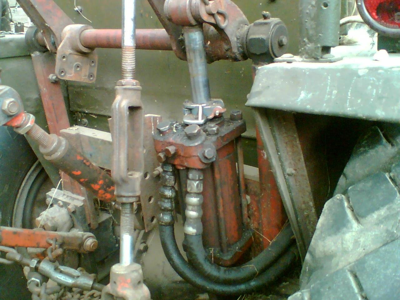 Гидросистема самодельного минитрактора своими руками 114