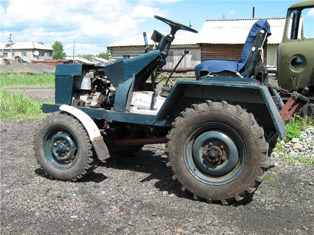 Трактор на базе УАЗ