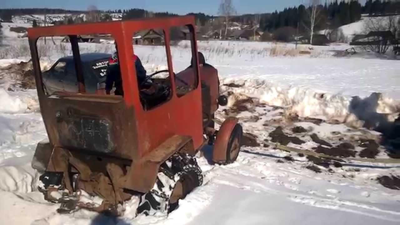 Как из нивы сделать трактор?