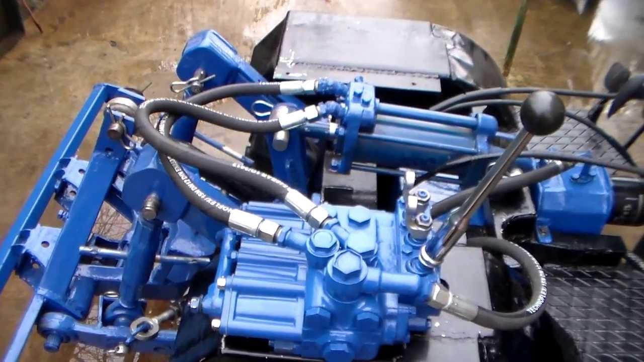 Устройство гидравлики на мини тракторах