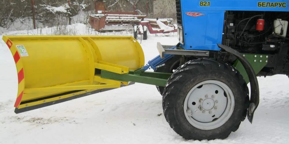 Снежный отвал на трактор