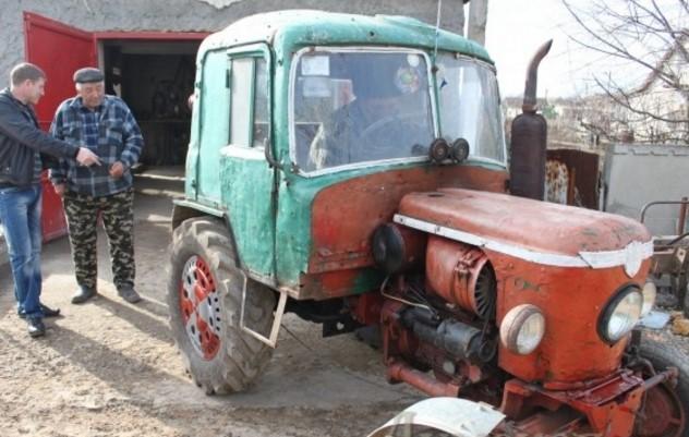 Как сделать трактор из жигулей?