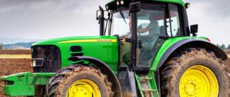 Тракторы John Deere Джон Дир