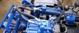 Гидравлика на мототрактор