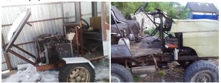 Мини трактор для домашнего хозяйства своими руками