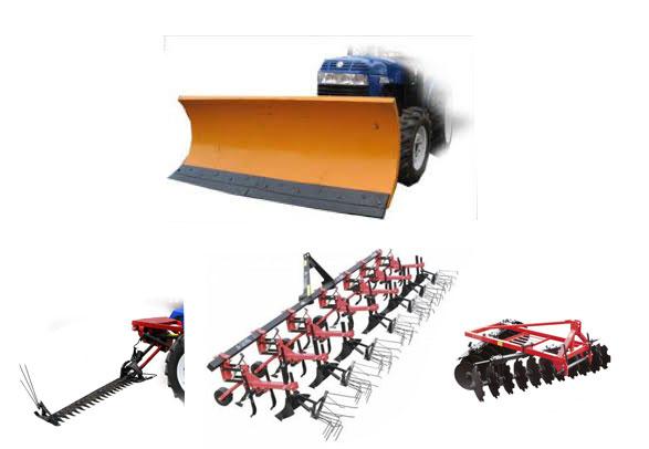 Навесное оборудование для мини тракторов