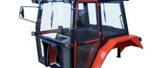 Самодельная кабина на минитрактор своими руками