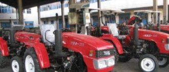 Yto трактор