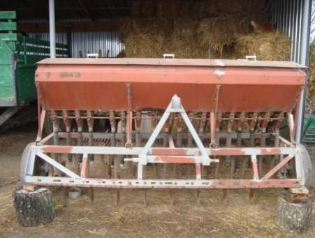 Зерновая сеялка для минитрактора
