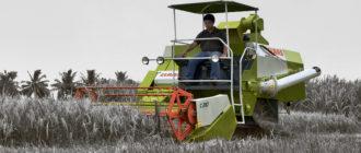 Миникомбайны для уборки зерна