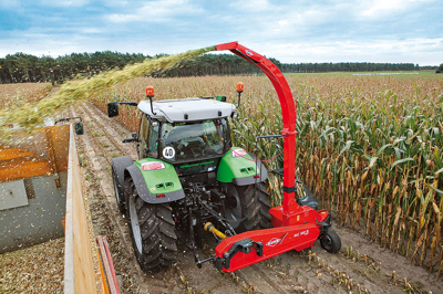 Комбайн для уборки кукурузы