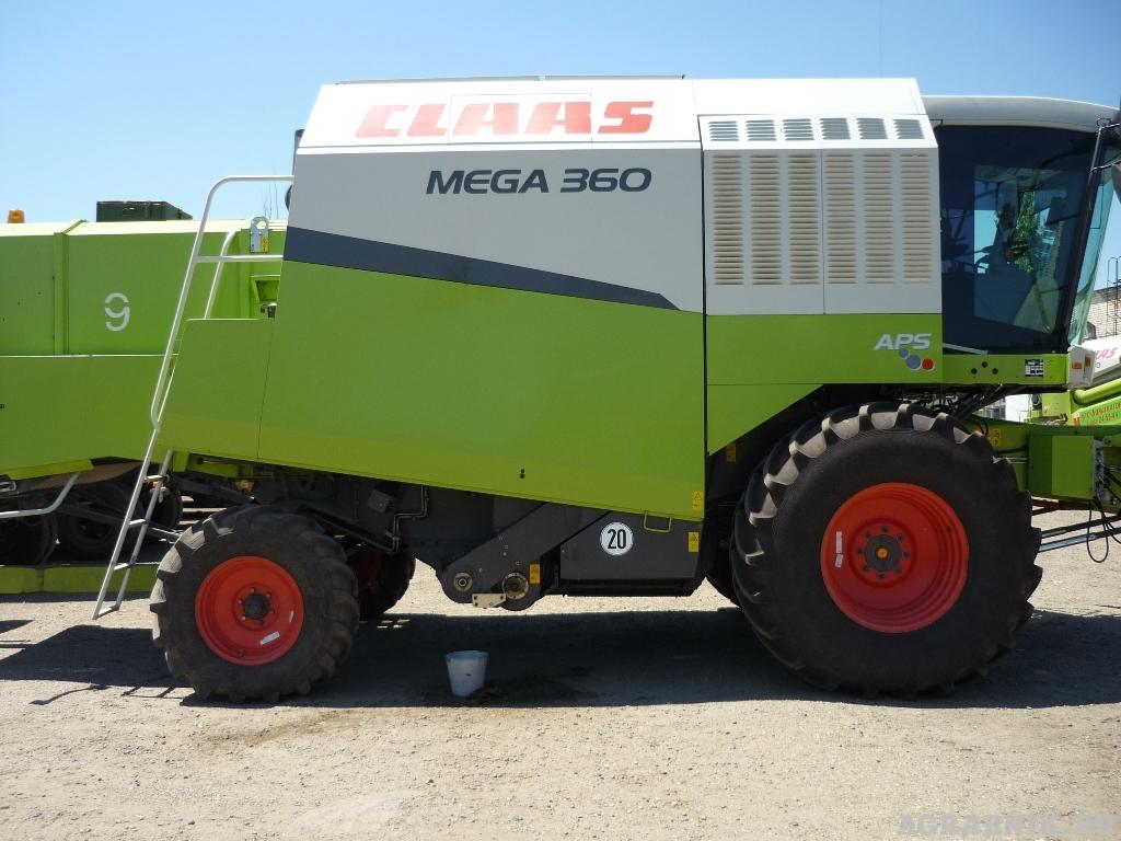 Комбайн «Клаас» Мега 360