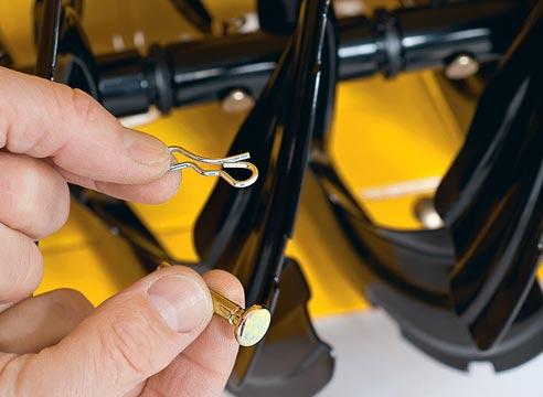 Чем заменить срезные болты для снегоуборщика?