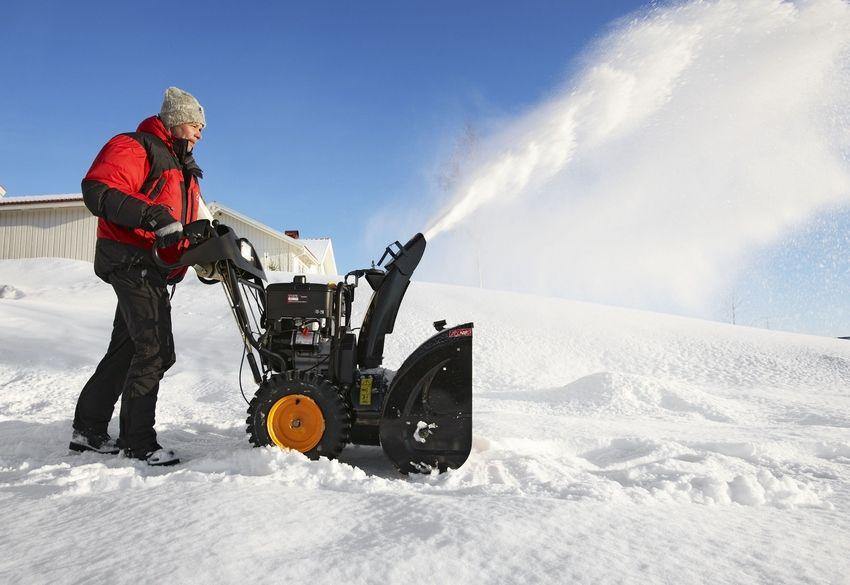Рейтинг бензиновых снегоуборщиков
