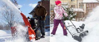 Рейтинг снегоуборщиков бензиновых