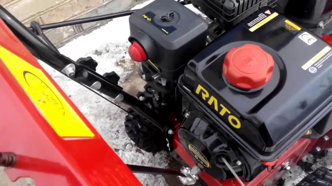 Рысь: снегоуборочная машина