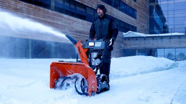 Снегоуборочные машины Husqvarna