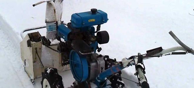 Снегоуборщик из культиватора
