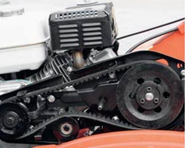 Сцепление ременного типа для мотоблока