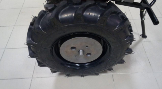 Как утяжелить колёса мотоблока