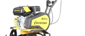Мотоблок Чемпион BC 6712