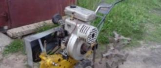 Мотокультиватор Урал